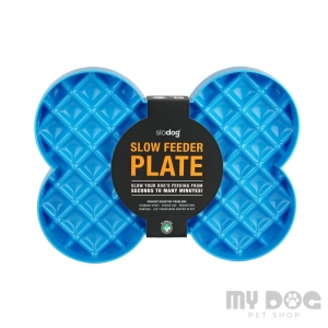 LickiMat® SLODOG Slow Feeder PLATE BLUE